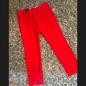 Banana Republic Sloan Red pants 8